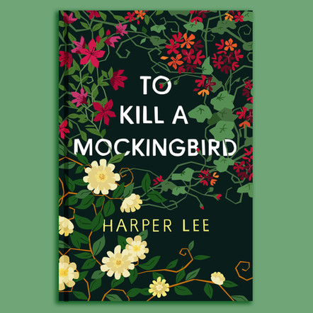 To Kill a Mockingbird illustrated cover