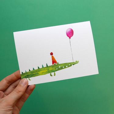 Happy Snappy Birthday card