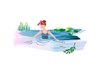Wild Swim illustration