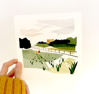 Montacute House illustration
