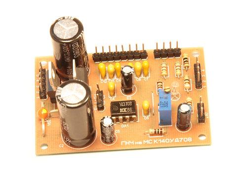 НЧ генератор сигналов на микросхеме КД140УД708