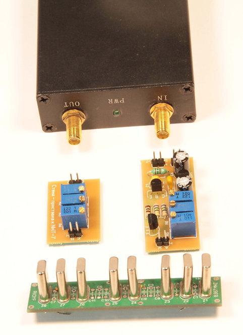 Стенд-приставка к NWT-7 для настройки фильтров