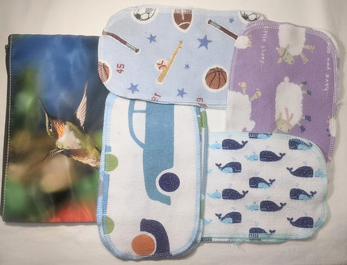 Baby Wipes kit with hummingbird case