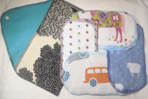 Baby Wipes kit with black and white case