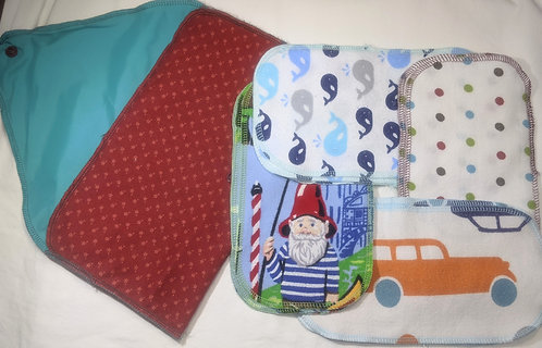 Baby Wipes kit with red case