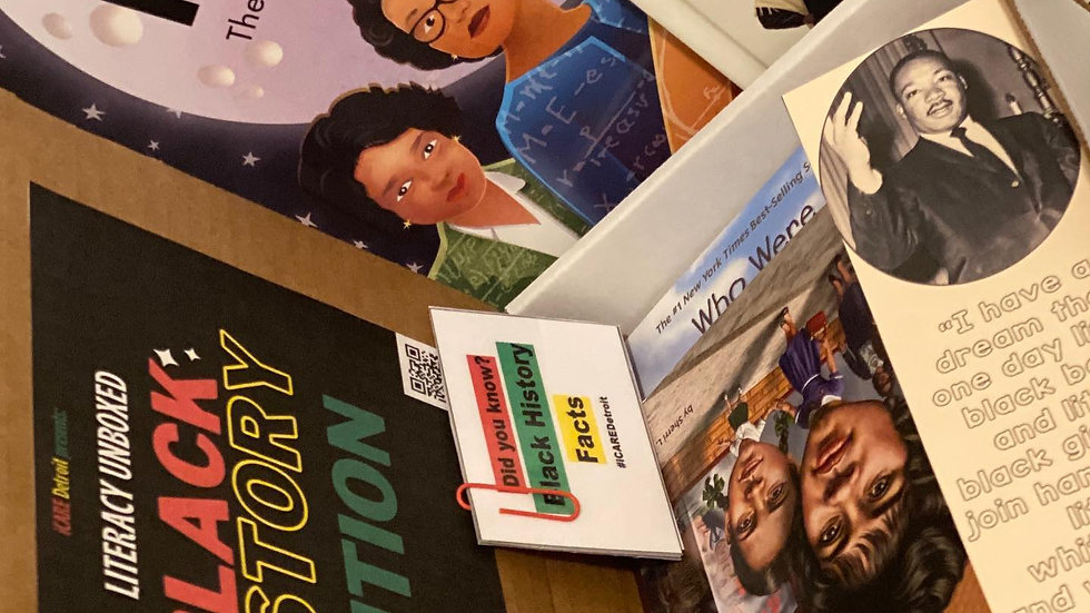 Literacy unBoxed- Black History Edition