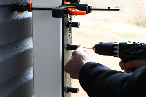 Drill Guide For Wood Posts