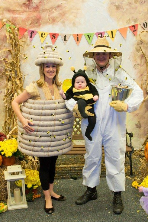 honeybee family costume