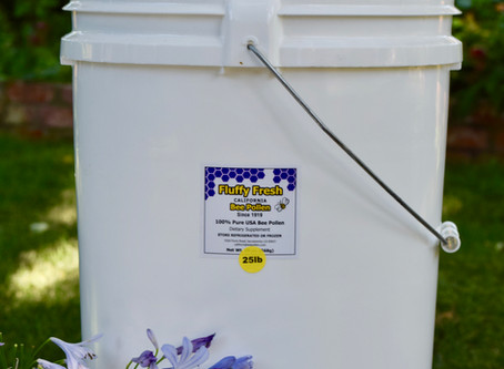 Bulk Fresh Bee Pollen - Perfect for Restaurants & Health Stores Alike!