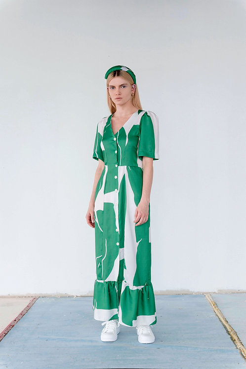 Canova Puff Sleeve Dress