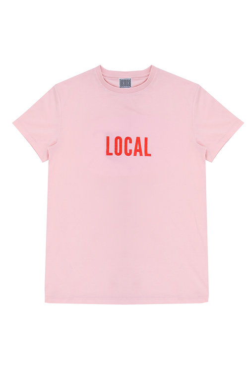The Local Unisex Tee In Pink