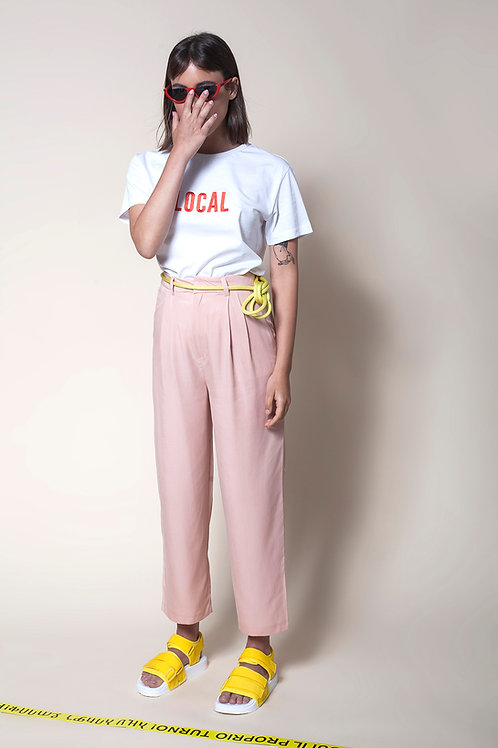 The Tencel Trousers In Pink