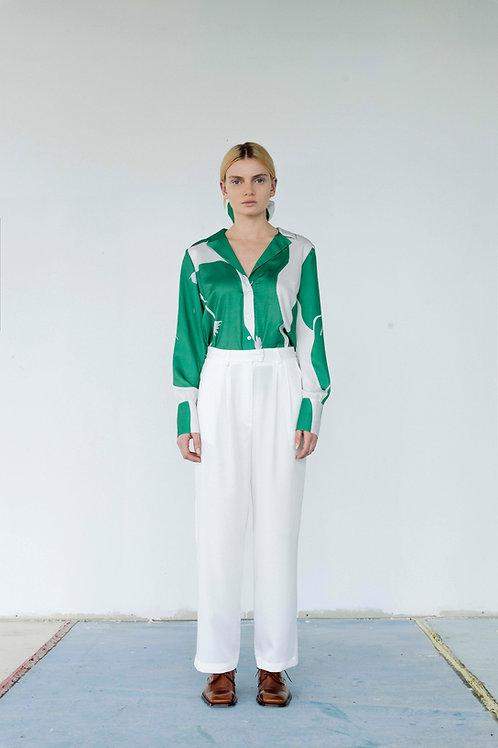 Formalist Tencel Trousers in white