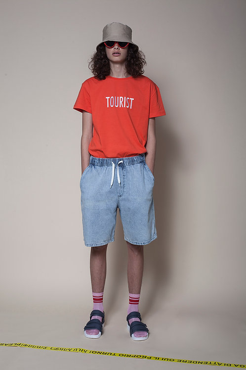 The Tourist Unisex Tee In New Red