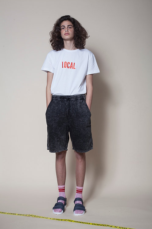 The Local Unisex Tee In White