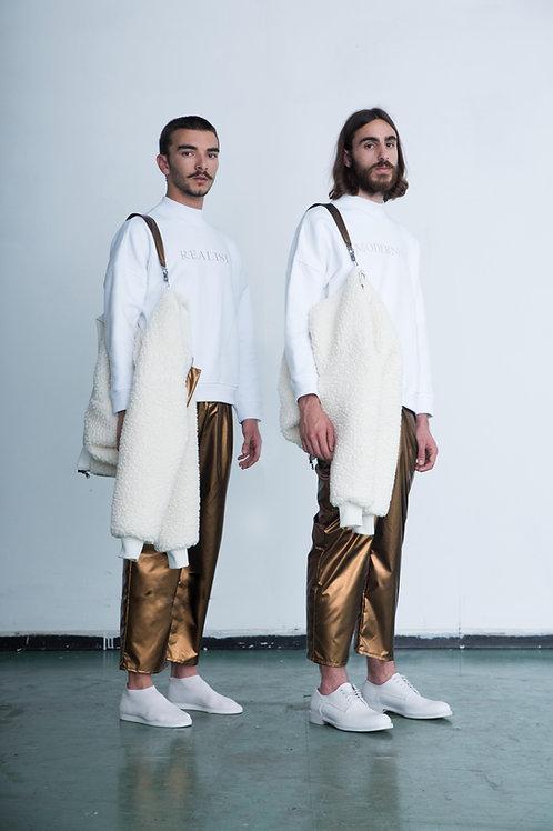 The Bronze Nylon Trousers