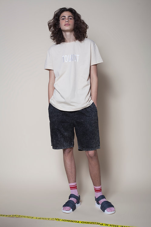 The Tourist Unisex Tee In Sand
