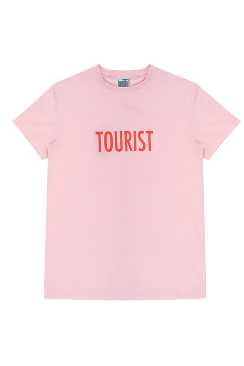 The Tourist Unisex Tee In Pink