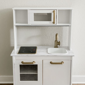 THE DIY ONE & DONE: IKEA PLAY KITCHEN