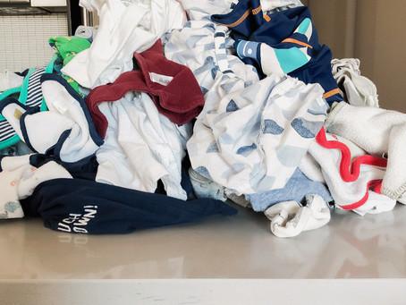 I Fell Asleep Doing My Baby's Laundry. Again.