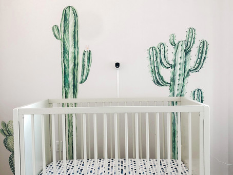 Summertime Cool: The Baby Bedding Upgrade