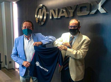 Grup NAYOX es suma a la família de l'Atlètic Lleida