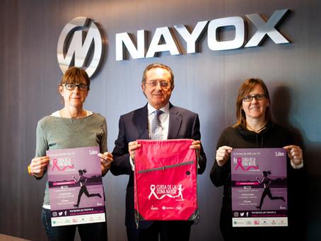 NAYOX un any més al costat de la Cursa de la Dona NAYOX