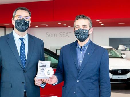 Premis a l'excel·lència SEAT per Automotor y Servicios i Auto NAYOX