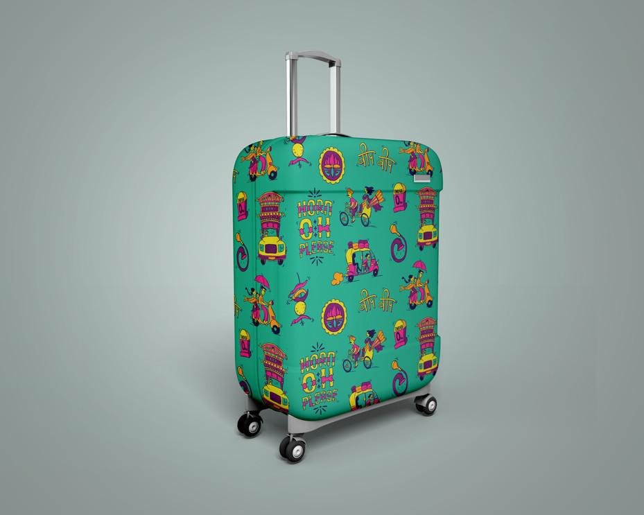 Safari Bags - Pattern Design