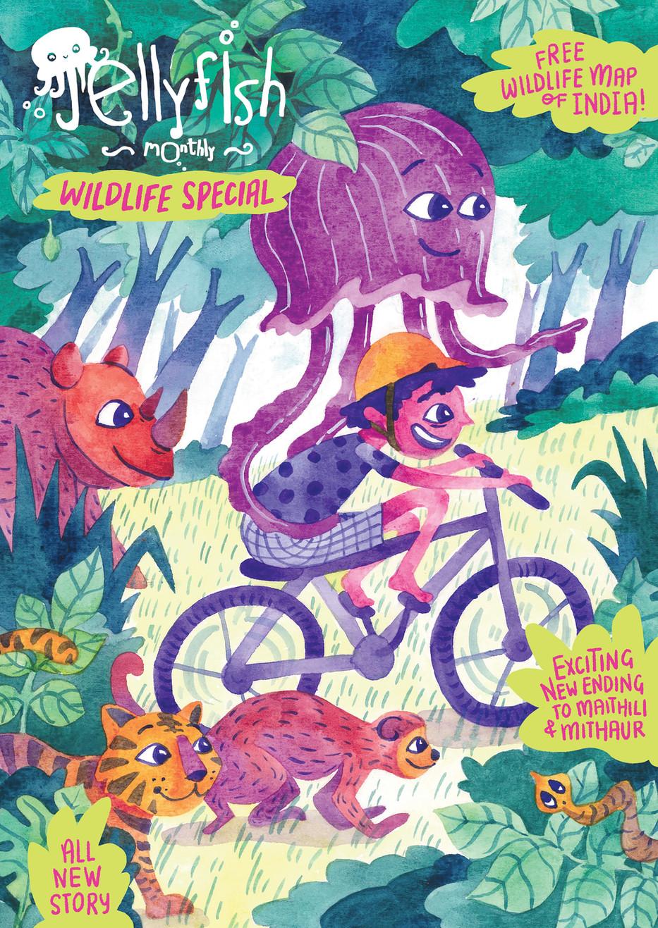 Jellyfish Monthly - Magazine Cover