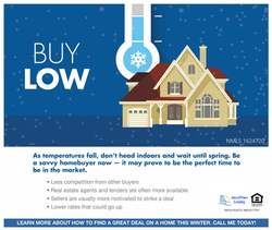 Winter may the perfect time to buy!
