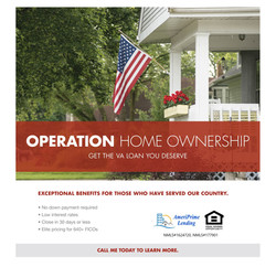 We are a Certified VA Lender