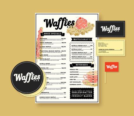 Waffles Bar - Branding