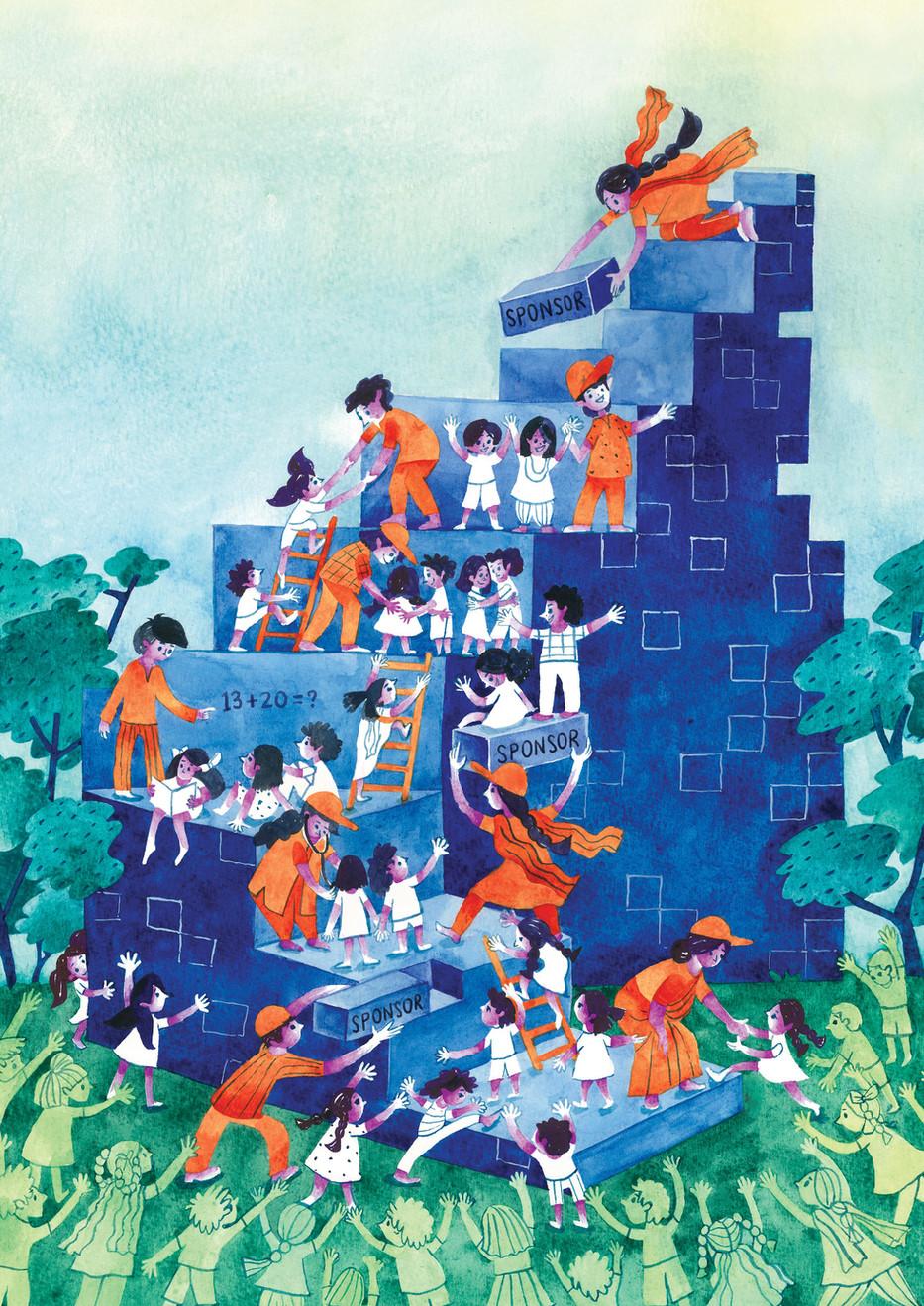 World Vision - Editorial Illustration - Published