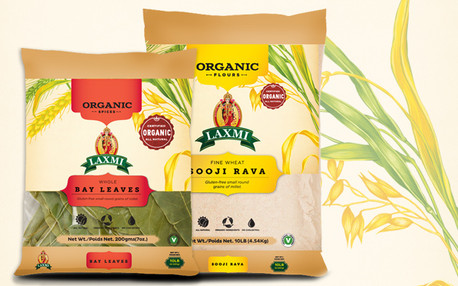 Laxmi, House of spices - Packaging, Illustration