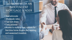 Working with Independent Lender