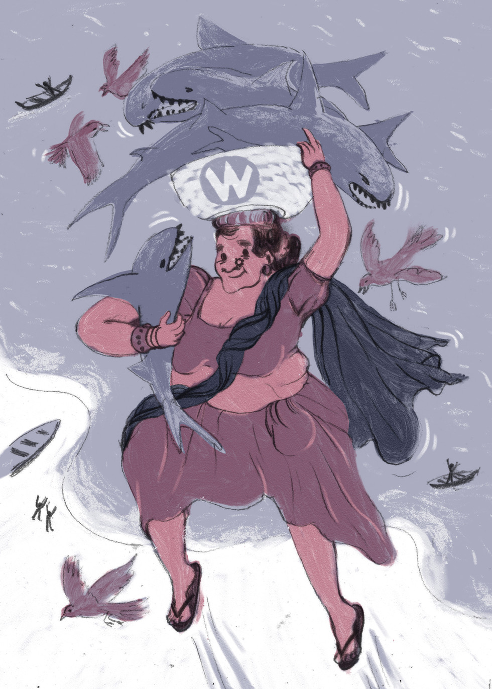 Shark Woman