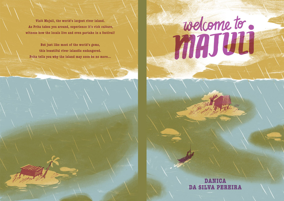 Welcome to Majuli - Picture Book