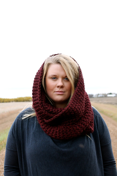 Infinity Scarf with Campfire Cuff