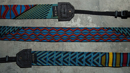 The Camera Strap - Geometric Party