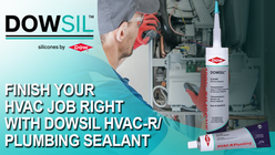 Finish your HVAC job right with DOWSIL sealant