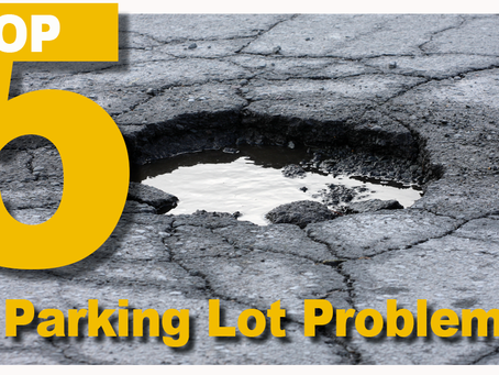 Top 5 parking lot problems to look-out for