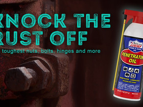 Knock the rust off the toughest nuts, bolts, hinges and more