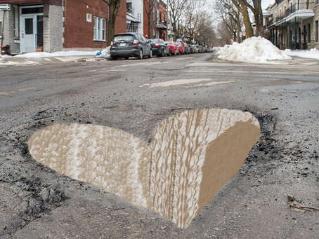 Winter potholes can wreck your parking lot and the cars using it