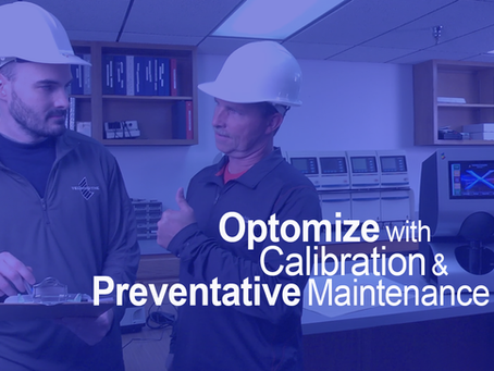 Calibration and preventative maintenance optimize measurements and insure against disasters.