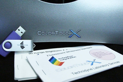 ColorTouchX/QC - ISO Calibration and Spectrophotometric Verification Kit (IR3 Le