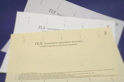 PROFILE/Plus® Opacity (TAPPI) Paper Calibration Verification Kit (OPTETB85)