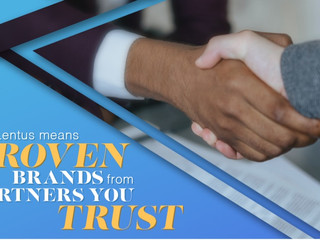 Lentus means proven brands from partners you trust