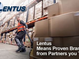 If you're a wholesale distributor, Lentus means proven brands from partners you trust.
