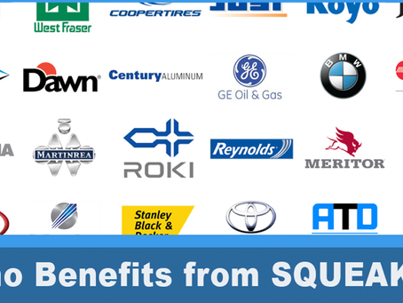 Who Benefits from SQUEAKS Communications for Manufacturing?